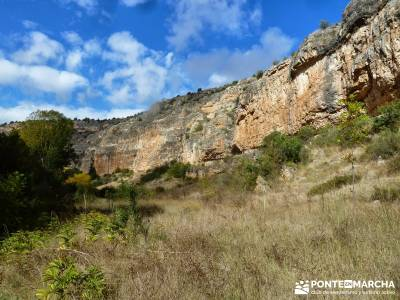 Hoces del Río Duratón - Sepúlveda;rutas y mapas campamentos de verano madrid turismo trekking sen